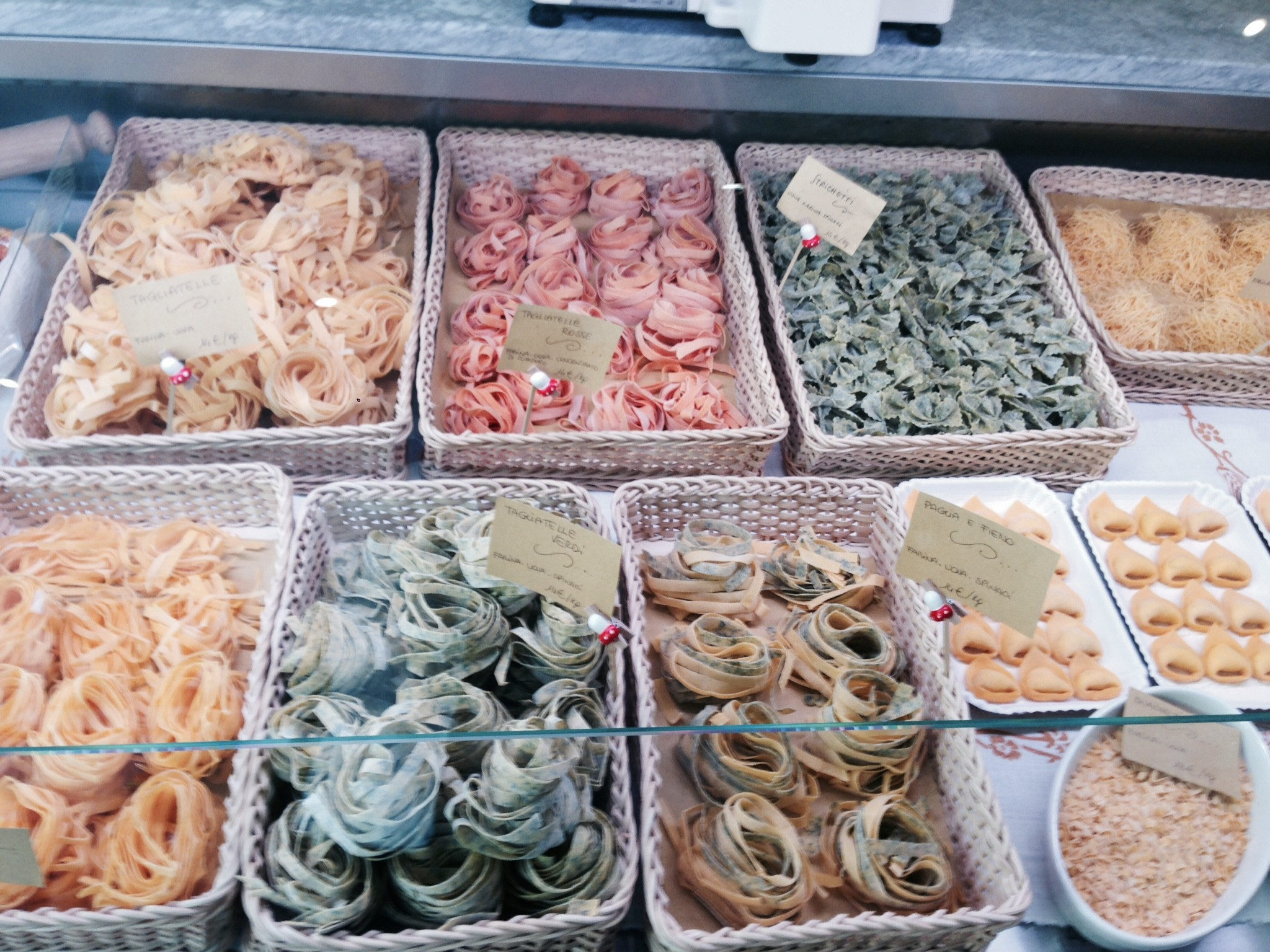Tutti i formati di pasta fresca