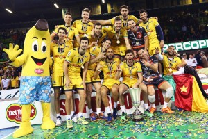 DHL Modena Volley festeggia la Supercoppa 2015